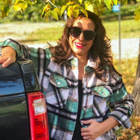 Amazon  Plaid Flannel  Shacket  #amazonfinds #ltkfall  #LTKSeasonal #LTKsalealert #LTKstyletip