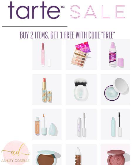 "Buy 2 get 1 free on all Tarte items with code ""free"" http://liketk.it/2VV0g #liketkit @liketoknow.it"