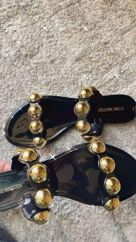 The cutest studded sandals I ever did see! #springsandals, #summersandals, #summershoes    #LTKSeasonal #LTKshoecrush