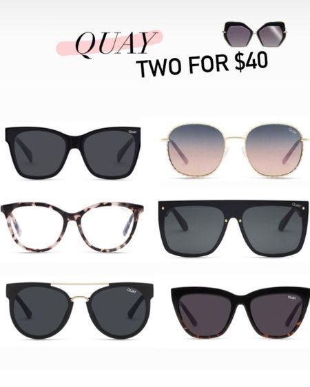 Quay two for $40! http://liketk.it/3fYB7 #liketkit @liketoknow.it #LTKstyletip #LTKunder50 #LTKsalealert