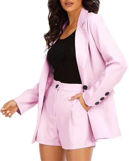 Love this blazer!! It is actually a set and it is so cute but recently I wore it with black pants and it looked really good too! Such a great price for a set!! 😍💖 http://liketk.it/3e5RB #liketkit @liketoknow.it #LTKunder50 #LTKsalealert #LTKstyletip