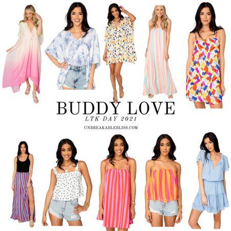 Super adorable, colorful summer outfits from Buddy Love, part of LTK Day! @liketoknow.it #liketkit #LTKDay #LTKsalealert #LTKunder100 http://liketk.it/3hcek