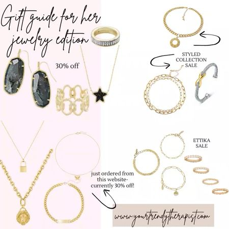 Gift guide for her - jewelry edition. Some of the latest jewelry trends   #LTKstyletip #LTKsalealert #LTKgiftspo