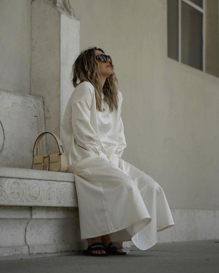 http://liketk.it/2R3Vt #liketkit @liketoknow.it Maxi Dress, Creme Beige Maxi Dress, Diana Dress, Long Sleeve Dress