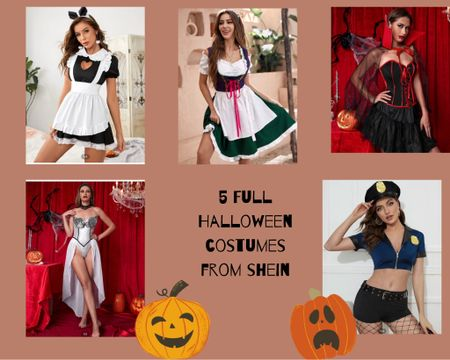 5 MORE HALLOWEEN COSTUMES FROM SHEIN🎃  Halloween costume ideas, costume idea, Halloween costume, Halloween 2021, fall looks, fall ootd, outfits for fall  #LTKSeasonal #LTKstyletip #LTKHoliday
