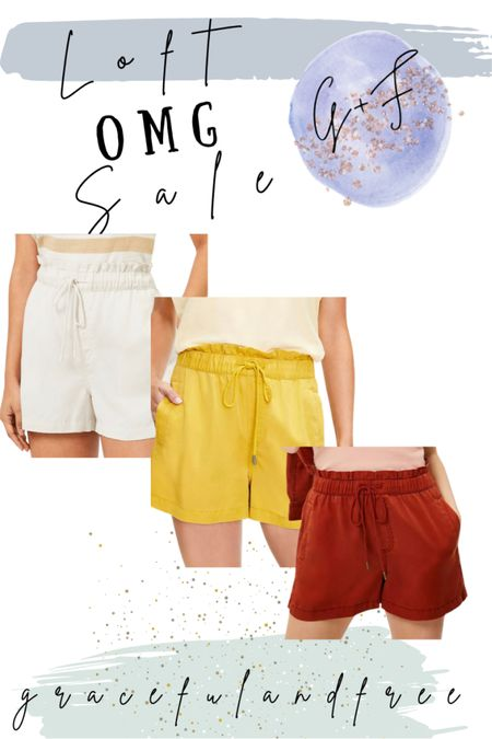 Soft twill pull on shorts 50% off http://liketk.it/3hUeL #liketkit @liketoknow.it #LTKsalealert #LTKunder50 #LTKstyletip Shop your screenshot of this pic with the LIKEtoKNOW.it shopping app
