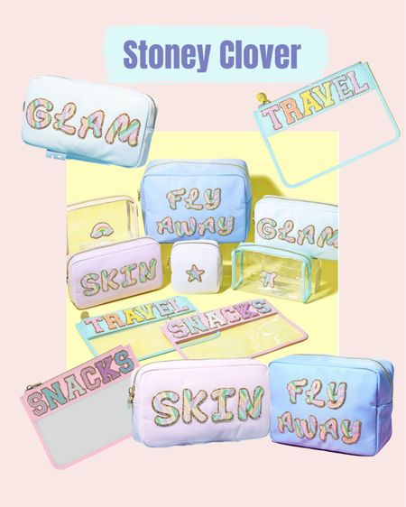 Personalized gifts. Travel accessories. Vacation must haves. Stoney Clover   #LTKitbag #LTKtravel #LTKstyletip