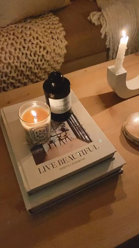 Coffee table styling, coffee table decor, coffee table books, candles, StylinAylinHome   #LTKhome #LTKstyletip #LTKunder100