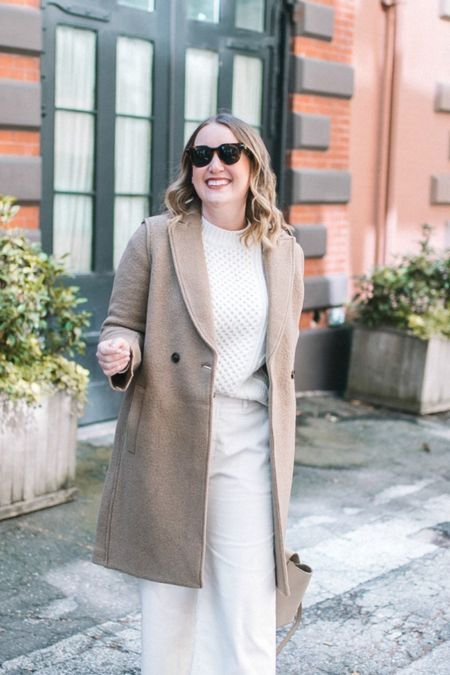 The J.Crew Daphne coat is back! Wearing a size 6. Available in multiple colors.   Cute Fall coat Fall fashion Fall outfit   #LTKSeasonal