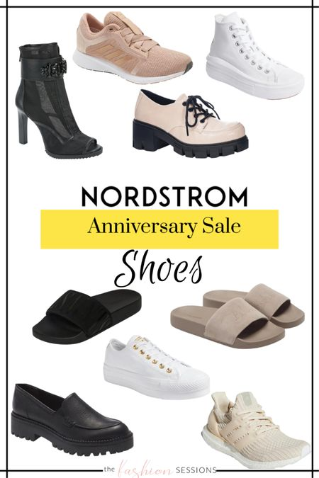 Nordstrom Anniversary Sale Picks!  Boots | booties | shoes | 2021 | Tennis shoes | running shoes | sandals | slides   Shop your screenshot of this pic with the LIKEtoKNOW.it shopping app http://liketk.it/3jsY4 #liketkit @liketoknow.it #LTKunder100 #LTKsalealert #LTKshoecrush