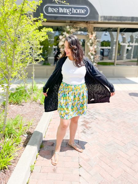 Summer floral skirt   #LTKstyletip #LTKunder50 #LTKSeasonal