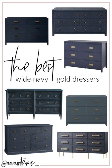 Nothing goes better than navy + brass ⚓️ These dressers are perfect for a moody space, nursery or boy's room!   Shop my daily looks by following me on LIKEtoKNOW.it!! 💙✨ http://liketk.it/39gNB #liketkit @liketoknow.it @liketoknow.it.home #LTKhome   boys nursery dresser, boys nursery changing table, navy dresser nursery, blue dresser nursery, navy changing table nursery, blue changing table nursery, navy baby dresser, blue baby dresser, navy changing table, blue changing table, navy gold dresser, navy brass dresser, navy dresser brass hardware, navy dresser gold hardware, navy dresser, blue dresser, navy dresser gold knobs, navy dresser gold pulls, navy dress brass knobs, navy dresser brass pulls, navy large dresser, blue large dresser, navy bureau, blue bureau, navy chest of drawers, blue chest of drawers, navy nursery, nautical nursery, boys nursery navy blue, navy boys nursery, modern navy dresser, navy gold drawer, navy brass dresser, traditional blue dresser, traditional navy dresser, navy wood dresser, blue wood dresser, navy distressed dresser, navy rustic dresser, blue rustic dresser, blue distressed dresser, navy campaign dresser, blue campaign dresser, unique dresser, unique blue dresser, unique navy dresser, affordable navy dresser, affordable nursery dresser, affordable blue dresser, blue dresser boys room, navy dresser boys room, boys room dresser, blue wide dresser, navy wide dresser, 6 drawer navy dresser, 6 drawer blue dresser, dresser matching table, dresser matching changing table, navy dresser matching changing table, navy changing pad, blue changing pad, mid century navy dresser, mid century dresser, mid century blue dresser, navy dresser ring pulls, blue dresser ring pulls, brass ring pulls dresser, gold ring pulls dresser, antique brass navy dresser, antique navy dresser, antique blue dresser, vintage navy dresser, vintage blue dresser, slate blue dresser, slate gold dresser, slate brass dresser