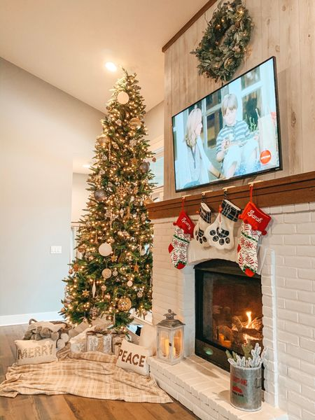 All I need for Christmas is a 12ft Christmas tree for $279 🙌🏼🎄What a steal! Linked all my living room Christmas decor in the @liketoknow.it app for you! This year I went for a #silverandgold themed tree, opting for different shades like even dark gray mixed in with silver, gold and white. I added a few oversized ornament too. Found sooo many goodies from target and Walmart this year, all at affordable prices 🙌🏼 @liketoknow.it.home http://liketk.it/2GMo8 #liketkit #LTKholidayathome   #LTKhome #christmastree #hellotravelhome #christmastime🎄 #christmasdecor