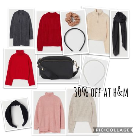 Some great winter sweaters and accessories for 30% off @hm today!!   http://liketk.it/32mgF #liketkit @liketoknow.it   Follow me on the LIKEtoKNOW.it shopping app to get the product details for this look and others
