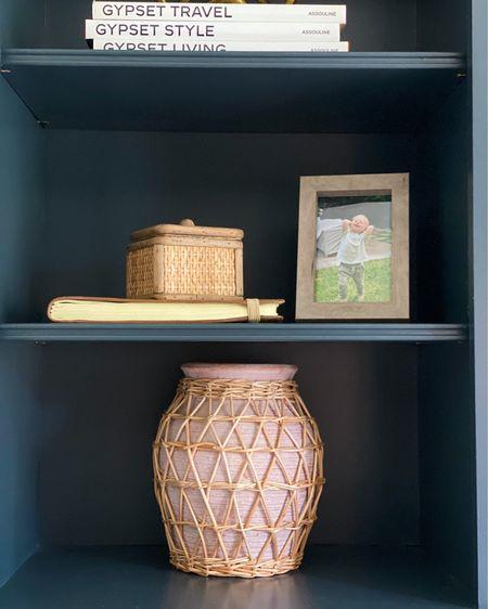 Anthropologie vase (small) // shelf decor // home decor #LTKhome #LTKunder100 #LTKstyletip #liketkit @liketoknow.it http://liketk.it/3ibQH