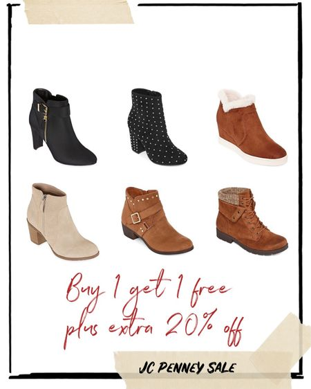JC Penney Shoes Sale, buy 1 get 1 plus 20% extra off! http://liketk.it/2H5yB @liketoknow.it #liketkit #LTKholidaystyle #LTKunder50 #LTKshoecrush @liketoknow.it.family @liketoknow.it.home You can instantly shop all of my looks by following me on the LIKEtoKNOW.it shopping app #shoecrush #tuesdayshoesday #LTKday #jcpenney #shoeslover