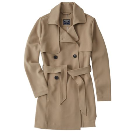 I LOVE this classic trench. A must have for every capsule wardrobe.   Save 25% off during the LTK Sale  Cost : Jacket : Trench Coat : Abercrombie : Fall   #LTKsalealert #LTKSale #LTKunder100