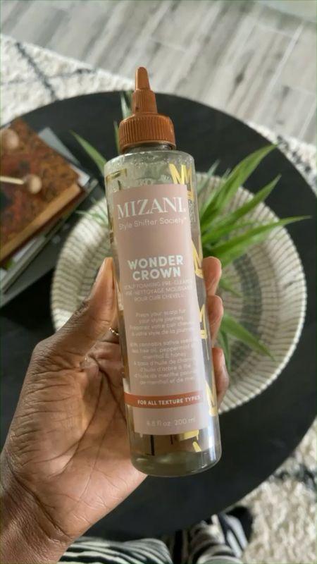 Mizani Wonder Crown scalp foaming pre cleanse and heat protectant.   #LTKstyletip #LTKbeauty #LTKunder50