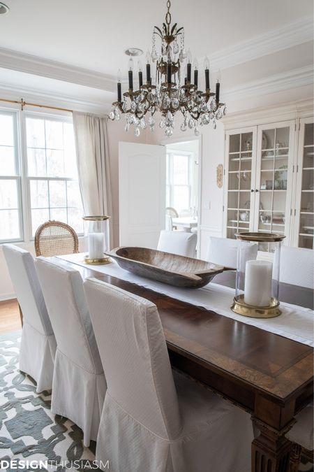 http://liketk.it/3k2Jc #liketkit @liketoknow.it #LTKfamily #LTKstyletip #LTKhome Dining room transformation without new furniture