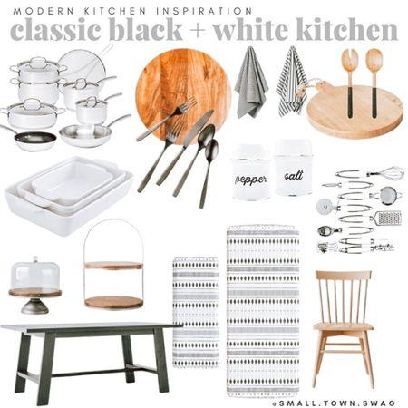 Black & white kitchen finds from Target & Amazon! . . . . . . . .   #LTKstyletip #LTKsalealert #LTKhome