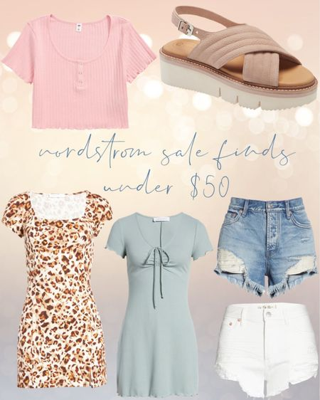 Nordstrom sale finds under $50!   #LTKsalealert #LTKstyletip #LTKunder50