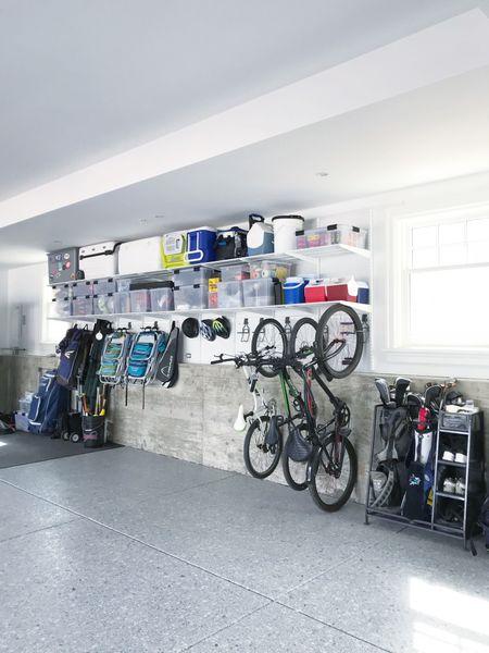 Garage organization. || #elfa #elfasale #garage #garage #garageorganization   #LTKhome