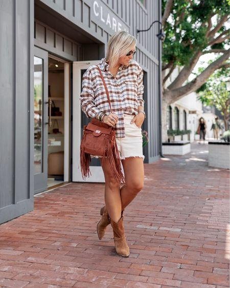 Sign me up for all the western vibes this fall 🤠   Boots are Free People from last year and sadly sold out, linking everything else here at the link in my bio.    #LTKunder50 #LTKSeasonal #LTKshoecrush