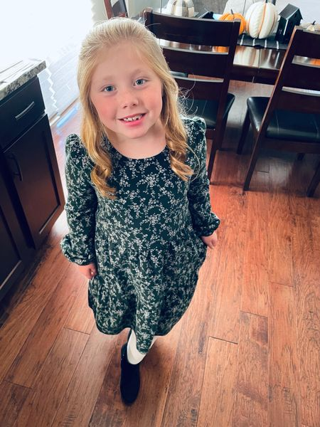 Here is my almost 7 year old!! We had family pictures tonight and this girl looked beautiful. ❤️  This dress from the Gap was a hit!   #LTKkids #LTKunder50 #LTKfamily