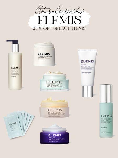 25% off Elemis beauty and skincare products y  #LTKSale #LTKbeauty #LTKunder50
