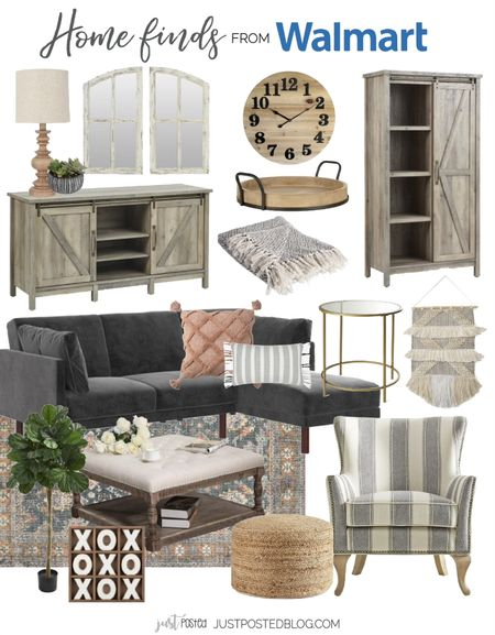 Update your family room with done new pieces from Walmart!    #LTKhome