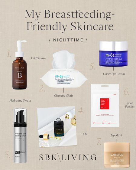 S K I N \ Nighttime skincare routine🙋🏻♀️  #skin #skincare #skincareroutine #beauty  #LTKunder100 #LTKbeauty