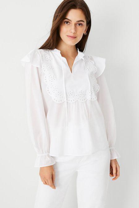 White blouse @liketoknow.it http://liketk.it/3i2Gs #liketkit #LTKworkwear #LTKunder100 #LTKsalealert