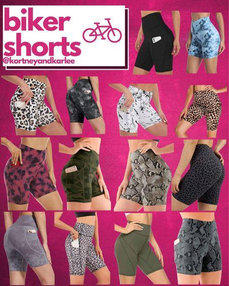 Amazon Biker Shorts!!  Amazon fitness | amazon athleisure | biker shorts | affordable biker shorts | biker shorts from amazon | amazon fitness equipment | fitness lover | amazon fitness finds | amazon workout finds | fitness junkie | amazon athletic finds | amazon water bottle | Kortney and Karlee | #kortneyandkarlee #LTKunder50 #LTKunder100 #LTKsalealert #LTKstyletip #LTKSeasonal #LTKfit @liketoknow.it #liketkit http://liketk.it/3hLEO