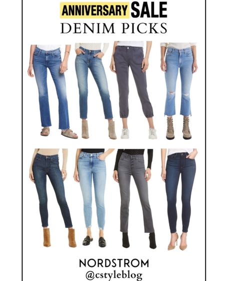 Let's talk about denim with regard to the @nordstrom Anniversary Sale…  I recommend only looking at or buying high-waisted denim from the #NSALE. The shirts, tops and sweaters out right now are short or cropped and can really only be worn with high waisted jeans. So, although they are offering mid-rise denim, I don't recommend buying it.  Head to Cstyleblog.com (link in bio) for popular cuts I know work well on lots of different women!   Now there are always a few exceptions to my recommendation of only buying high waisted denim- ha! Rules and recs aren't set in stone. Included some of these picks too on the blog!   http://liketk.it/3jS61 #liketkit @liketoknow.it #LTKsalealert