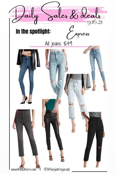 Jeans, skinny jeans, mom jeans  #LTKSale #LTKsalealert #LTKSeasonal