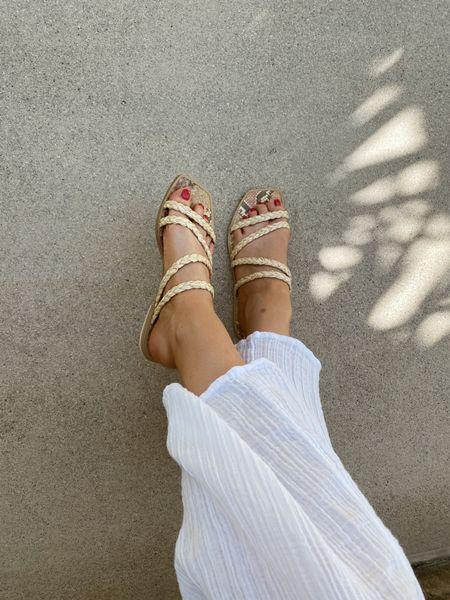 Dolce vita raffia sandals - fit true to size   #LTKunder100 #LTKshoecrush