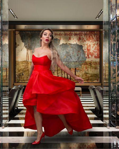 The red dress of your DREAMS henny! 😍 http://liketk.it/37HgO #liketkit @liketoknow.it #LTKstyletip #ladyinred #reddress #wearred