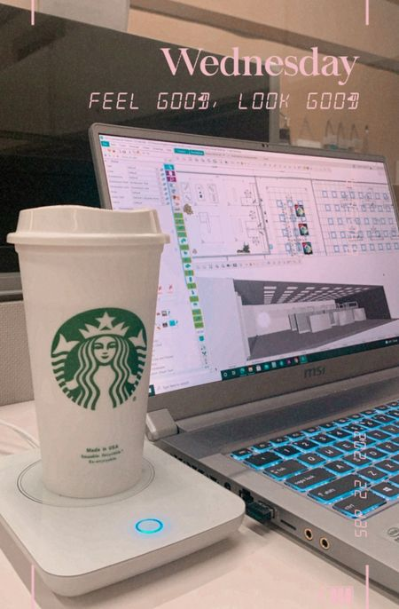 Coffee mug warmer desk essentials amazon finds