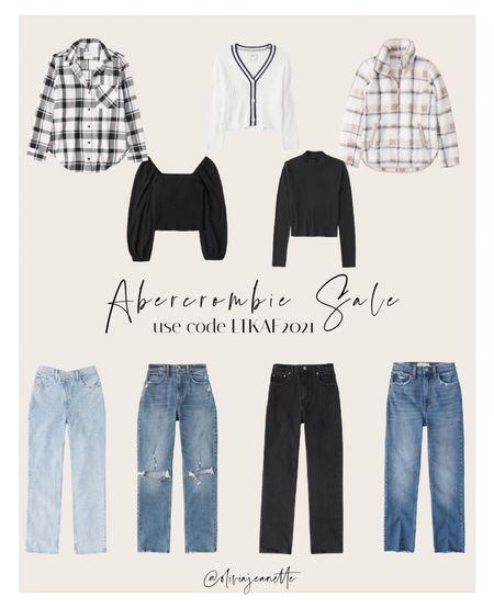 LTK SALE! Shop Abercrombie fall must haves with code LTKAF2021 🍂  #LTKunder100 #LTKsalealert #LTKunder50