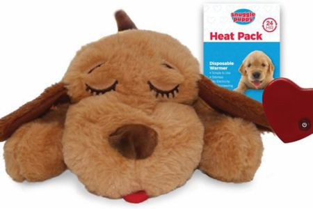This item has saved us. Heat packs and a battery heartbeat keeps Jäger happy all night.   #LTKGiftGuide #LTKunder50