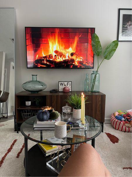 Perfect Sunday setup. >> • • • #ltkseasonal #ltkhome #apartmentliving #allmodern #walmarthome