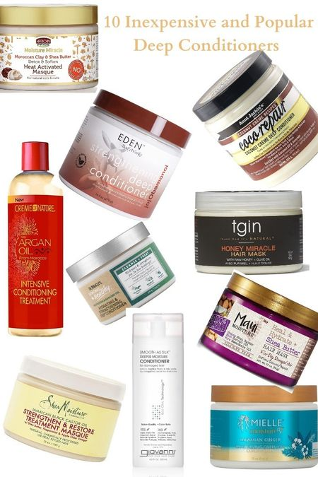 Happy Monday! New post on the blog perfect for your pockets. 10 Inexpensive And Popular Deep Conditioners You Need For Natural Hair. Link in bio and here: https://wp.me/p9jsKC-6U   Are you getting those DC in every washday? You better and if you are worried about your money, check out our list of the best inexpensive Deep conditioners for natural hair. Get your fall hair care boosted with these top 10.    List includes products from:  Mielle Orgaincs  Eden Bodyworks  AFrican Pride  Aunt Jackie's   Creme of Nature  Giovanni  Shea Moisture  Dr. Miracle's   Maui Moisture  tgin   #dc #deepconditioner #haircare #naturalhair #naturalhaircare #washday #MielleOrganics #edenbodyworks #africanpride #auntjackies #cremeofnature #Giovanni #sheamoisture #DrMiracles #MauiMoisture #tgin #hairmask #hairmasque