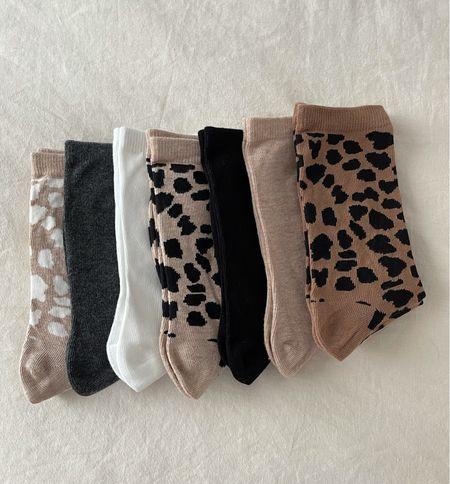 The best pack of socks for Fall! #socks #fallfashion #footwear #hm  #LTKunder50