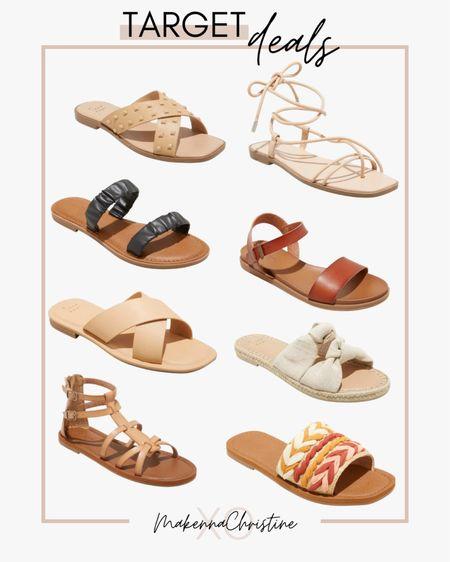 Target sandals on sale!! http://liketk.it/3i8qI @liketoknow.it #liketkit