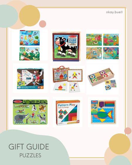 Toddler puzzles! 💕  #LTKkids #LTKGiftGuide