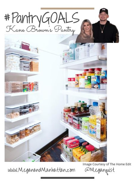 The Home Edit on Netflix I can't get enough of these pantry's! Here is Kane Brown's Pantry with a cute S'mores station and of course the subtle rainbow in the organization   #LTKstyletip #LTKhome #StayHomeWithLTK