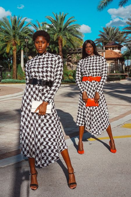 All things houndstooth ✨   Follow me on the LIKEtoKNOW.it shopping app to get the product details for this look and others! @liketoknow.it http://liketk.it/36IfV #liketkit  #LTKstyletip #LTKsalealert #LTKSeasonal