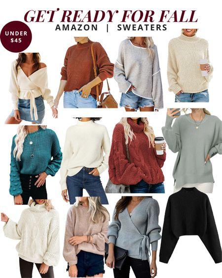 Get ready for fall - Amazon sweaters   #LTKSeasonal #LTKunder50 #LTKstyletip
