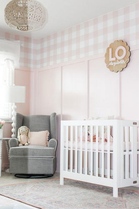 Little Lo's pink nursery!   #LTKhome #LTKbump #LTKbaby