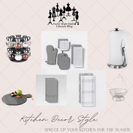 Check out my kitchen decor to spice up your kitchen for the season.  #LTKhome #LTKunder100 #LTKfamily